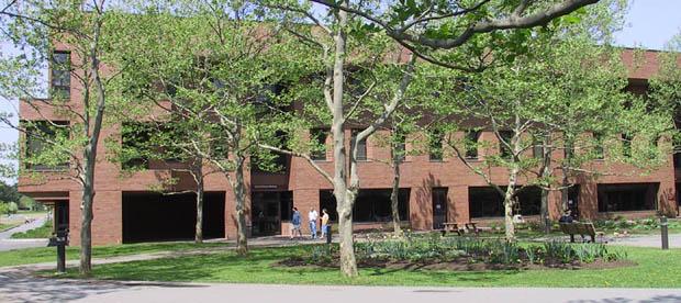 Front of James E. Gleason Hall